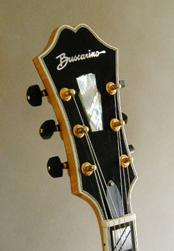 Buscarino Monarch headstock